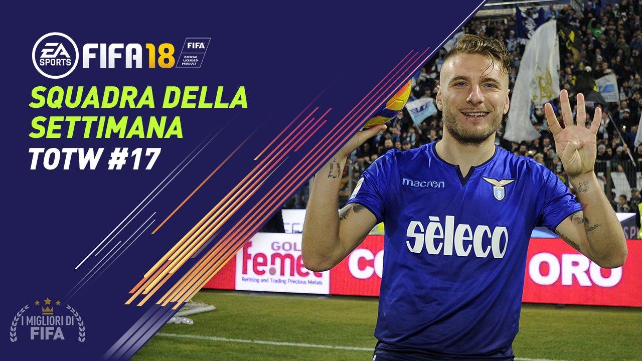 Totw 17 Fifa 18 Alla Scoperta Della Squadra Della