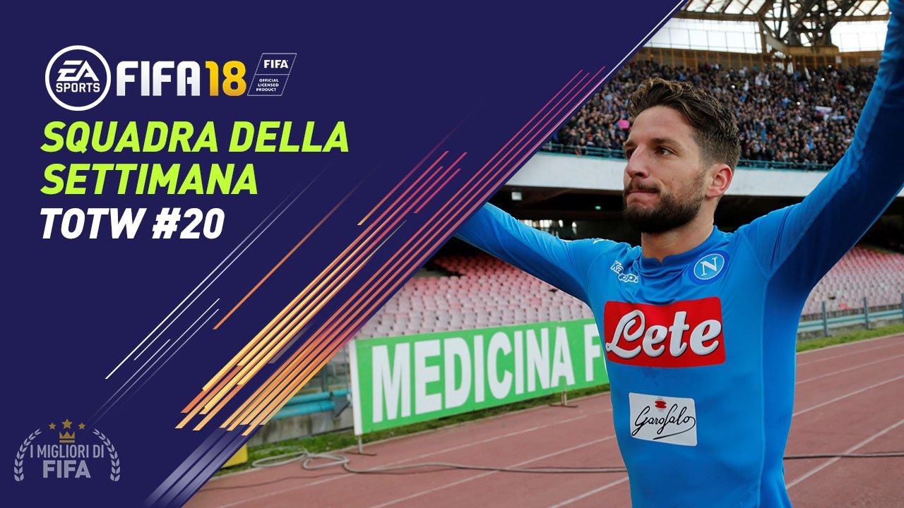 TOTW 20 - FIFA 18