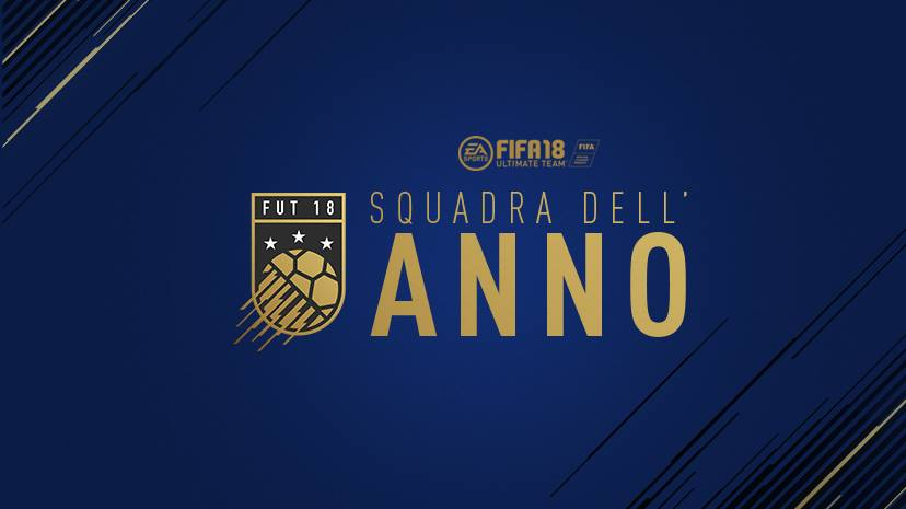 TOTY Squadra dell'anno Fifa 18