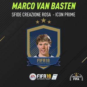 """Fifa 18 Sfida Creazione Rosa Van Basten Icon """"Prime"""""""