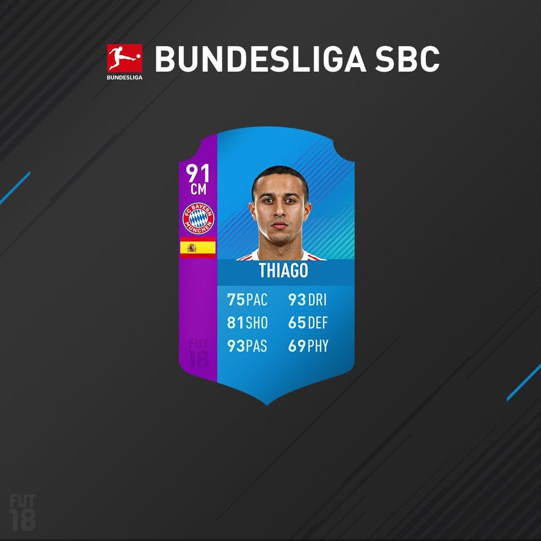 SBC Campionati Bundesliga E J-League: Thiago E Cristiano