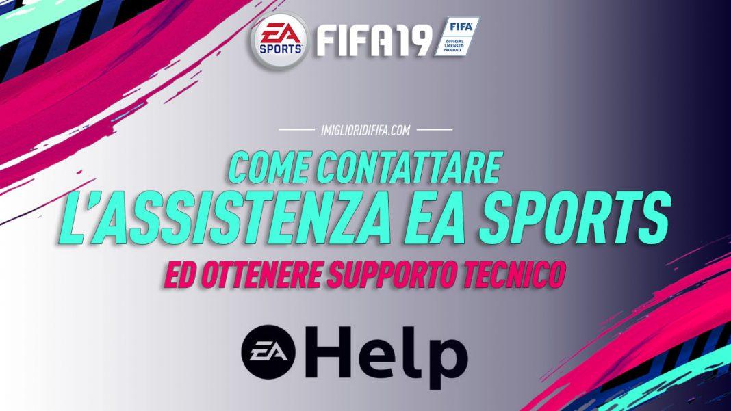 Come Contattare assistenza EA Sports