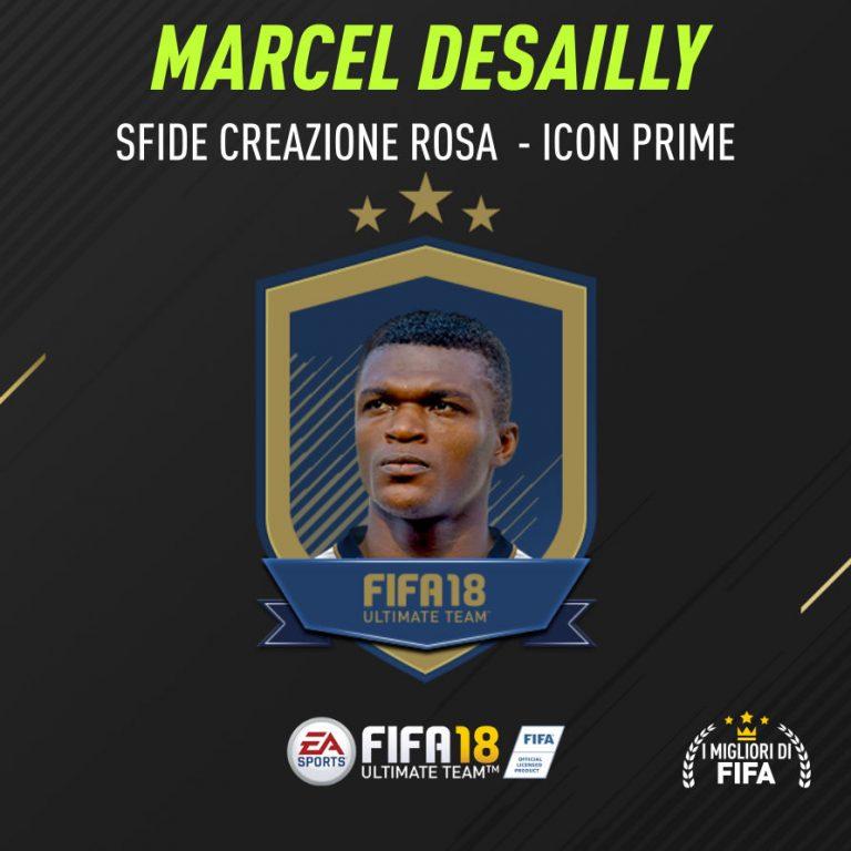 """Fifa 18 Sfida Creazione Desailly Icon """"Prime"""""""