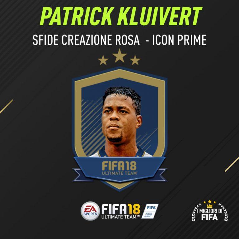 Fifa 18 Sfida Creazione Rosa Kluivert Icon Prime