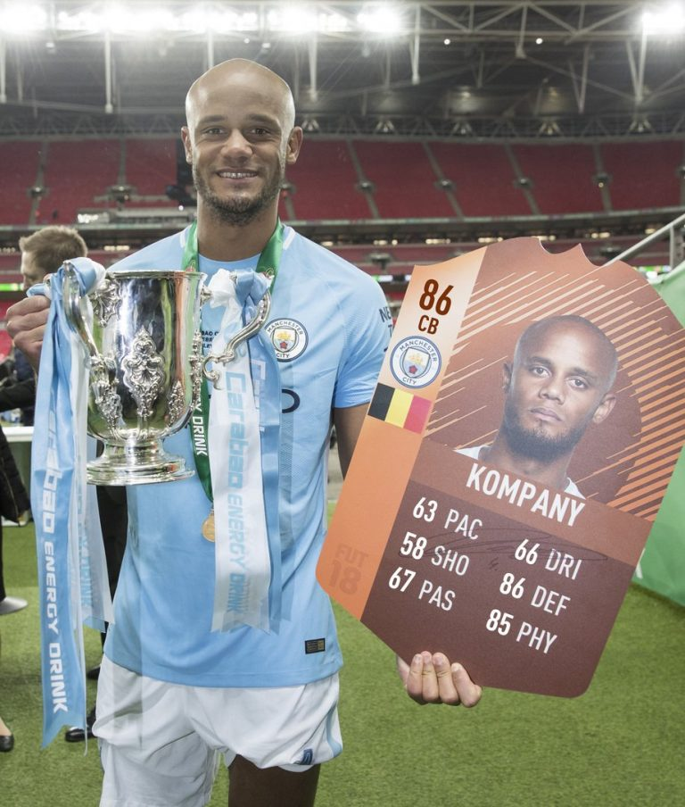 "Fifa 18: disponibile Kompany ""Man of the Match"" per la Carabao Cup"