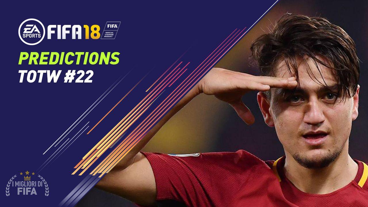 Predictions TOTW 22 Fifa 18