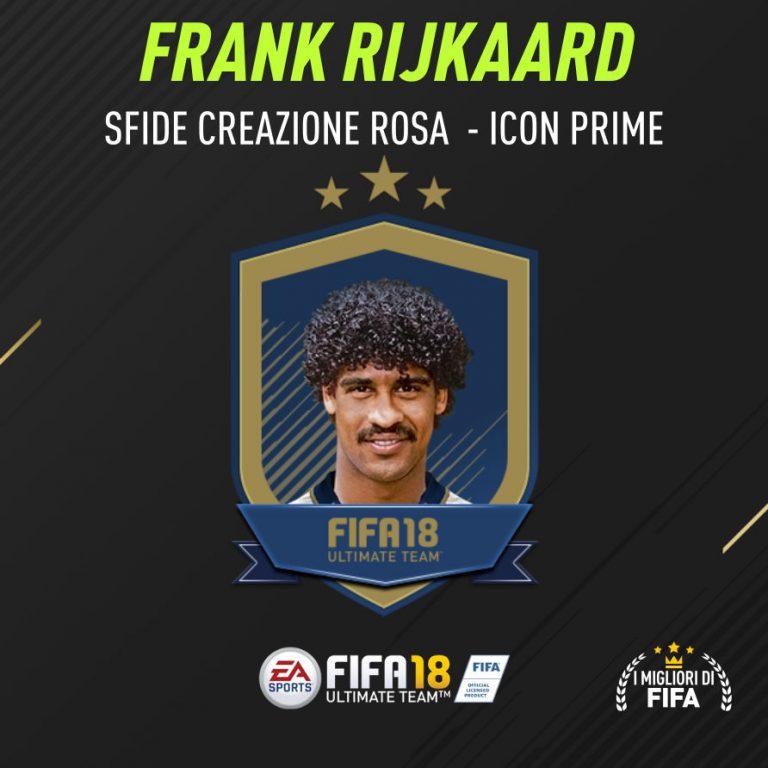 Fifa 18 Sfida Creazione Rosa Rijkaard Icon Prime
