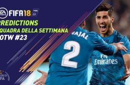 TOTW 23 Predictions Fifa 18