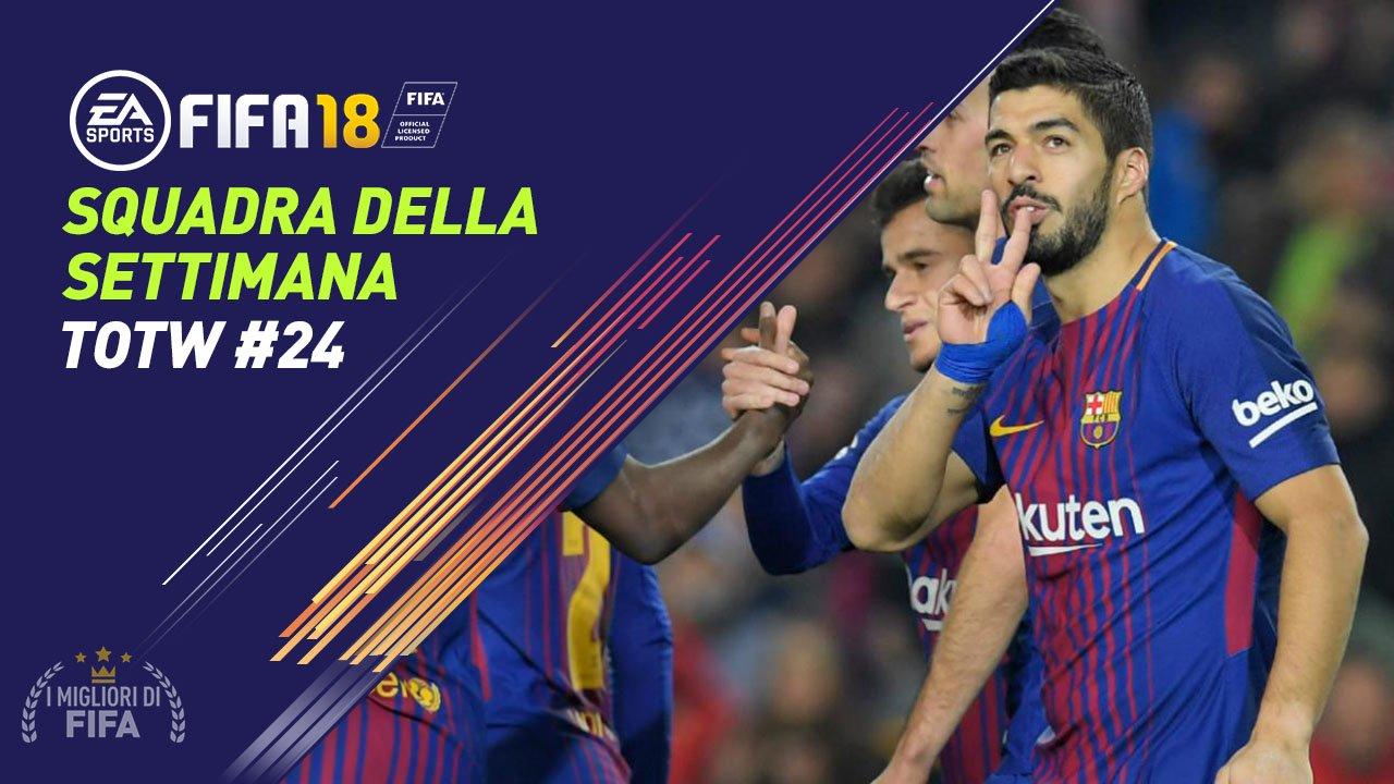 TOTW 24 Fifa 18