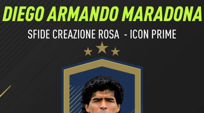 Maradona SBC Icon Prime