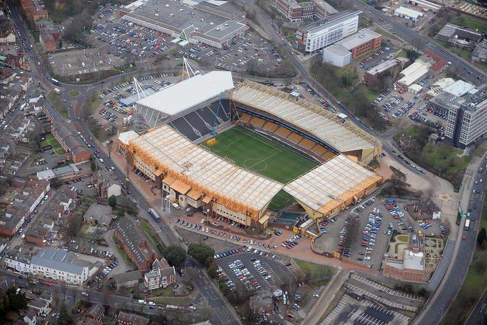 Il Molineux Stadium che ospita le partite del Wolverhampton
