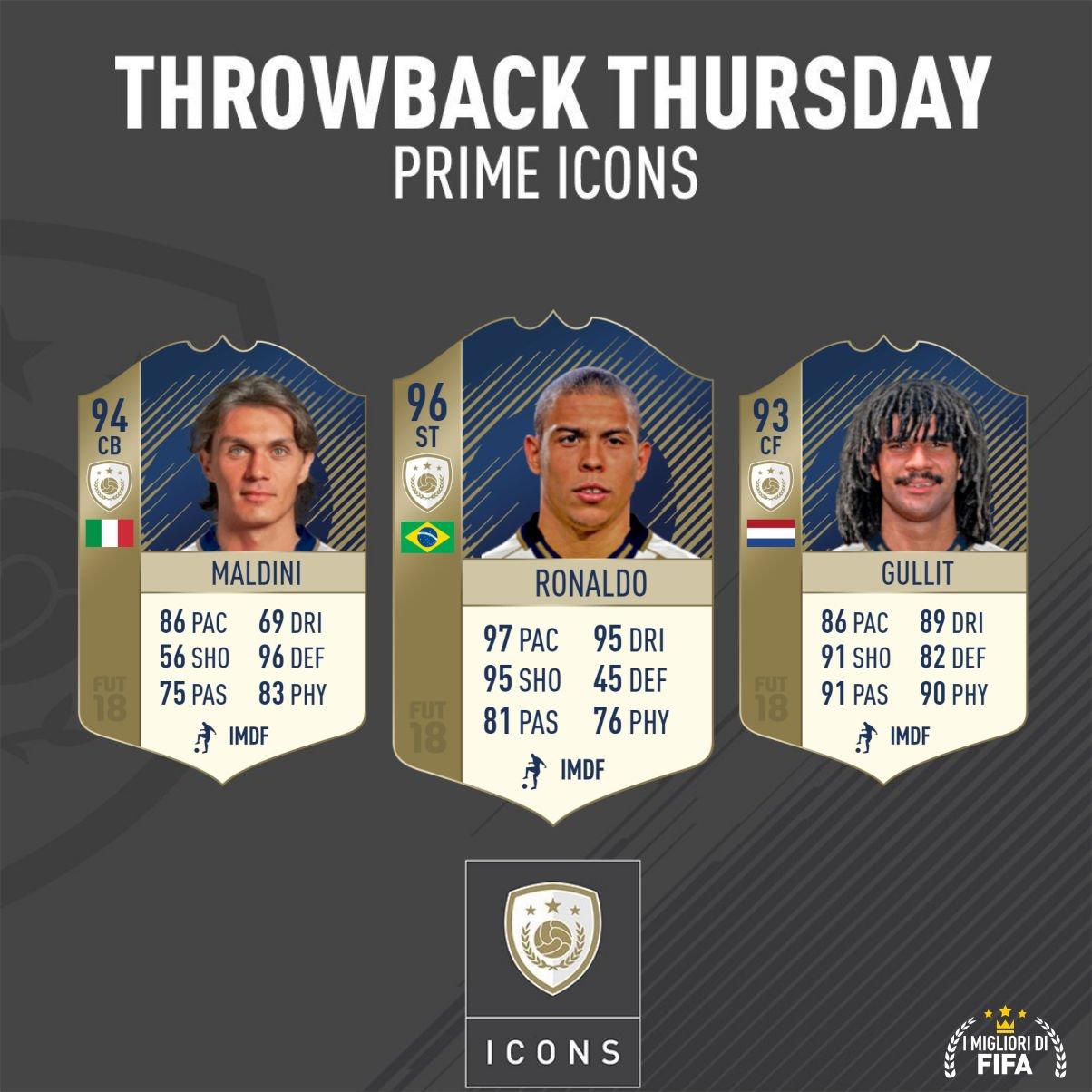 Ronaldo, Maldini, Gullit