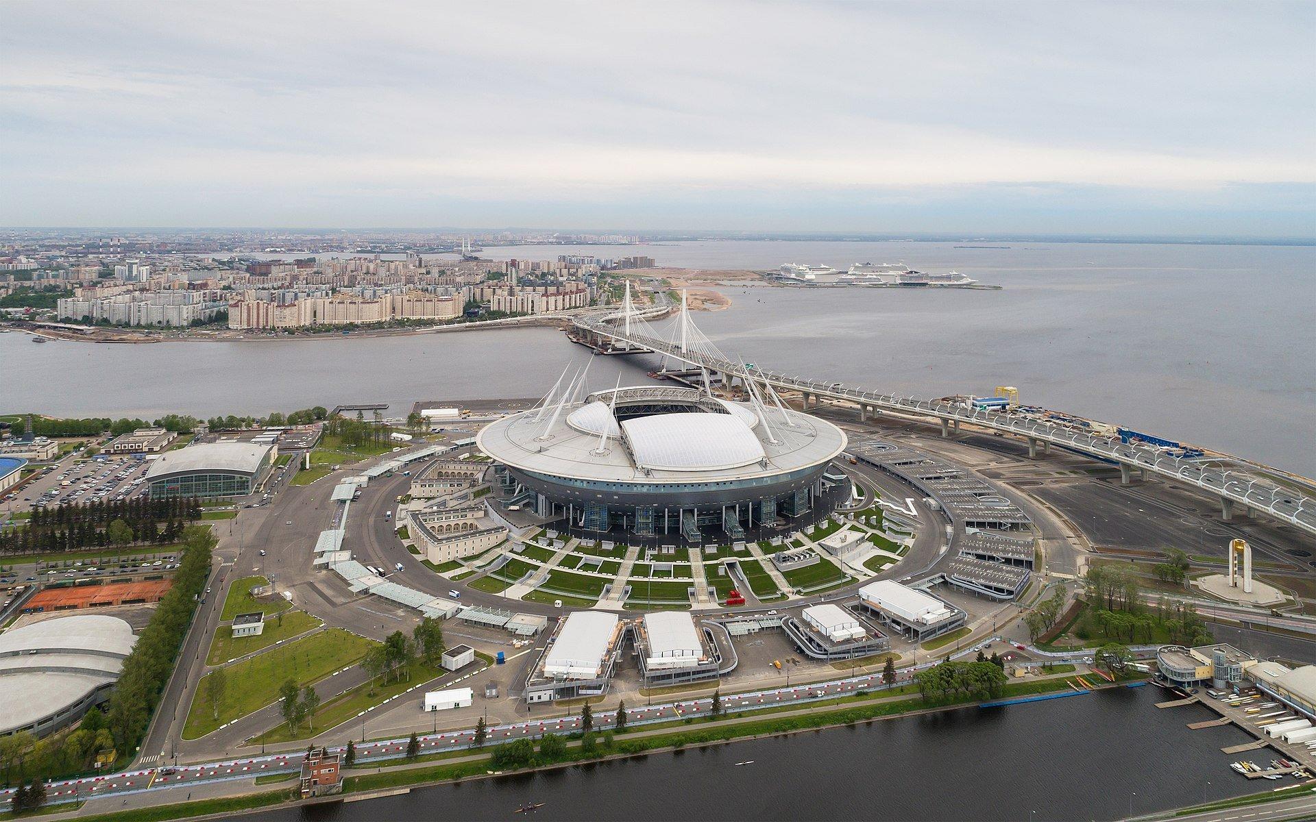 Lo Stadio di San Pietroburgo che vedremo nel DLC dedicato ai mondiali Russia 2018