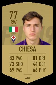 Card oro non rara FIFA 19