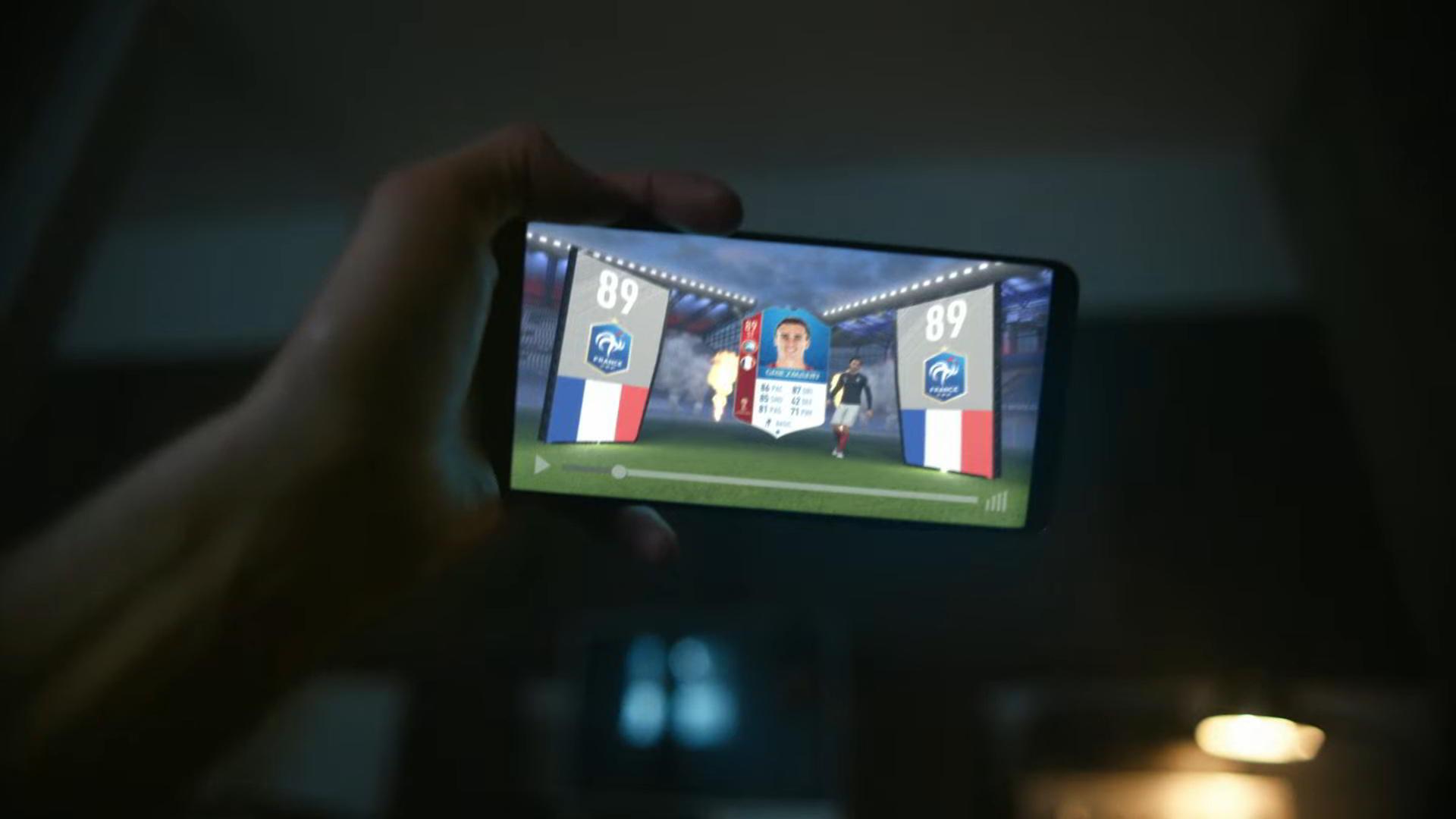 L'aspetto delle card della modalità Fifa World Cup Ultimate Team