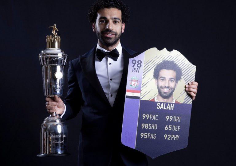 FIFA 18 POTY: Salah è il giocatore dell'anno PFA! Sanè il mi