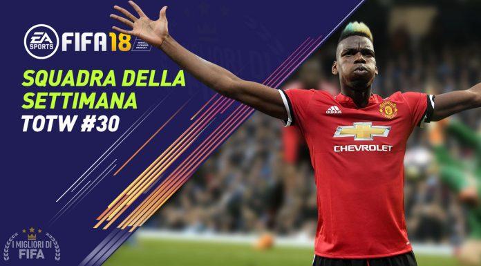 TOTW 30 FIFA 18