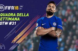 TOTW 31 FIFA 18