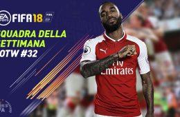 TOTW 32 Fifa 18 Squadra della Settimana