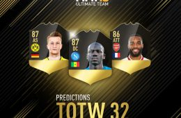TOTW 32 Predictions SdS