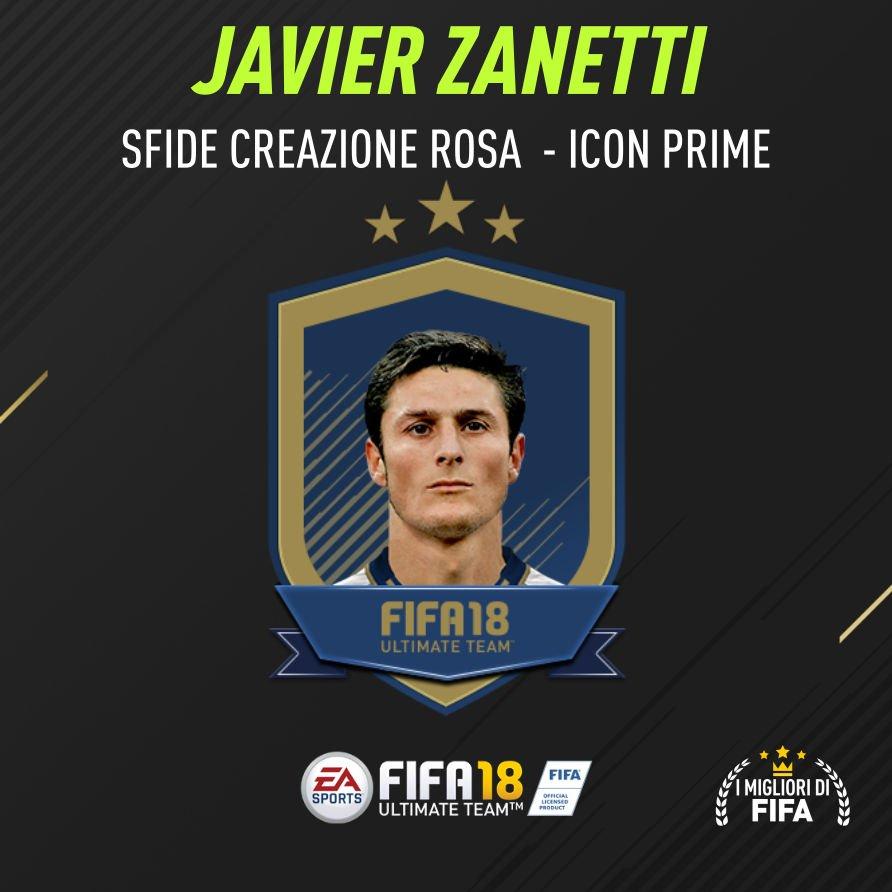 Fifa 18 Sfida Creazione Zanetti Icon Prime