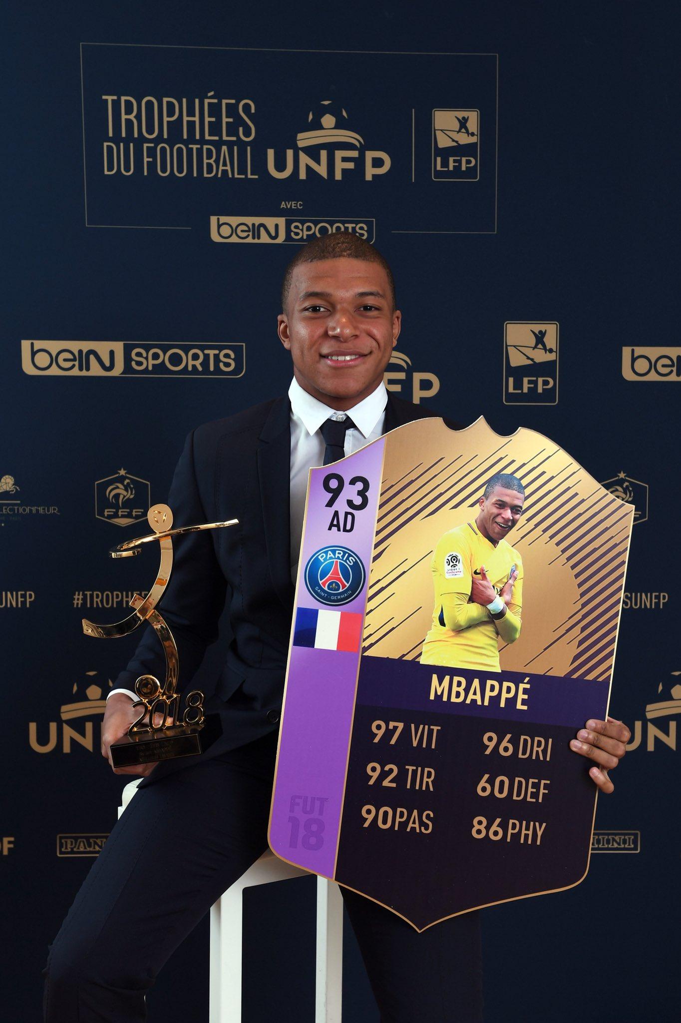 Mbappè POTS POTY UNFP