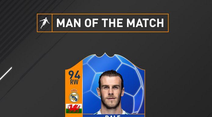 Bale Uomo Partita MOTM