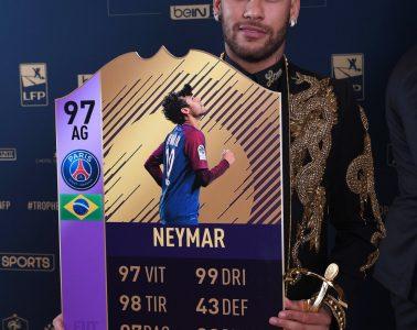 Neymar POTS POTY UNFP