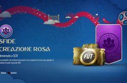Sfide Creazione Rosa Fifa World Cup