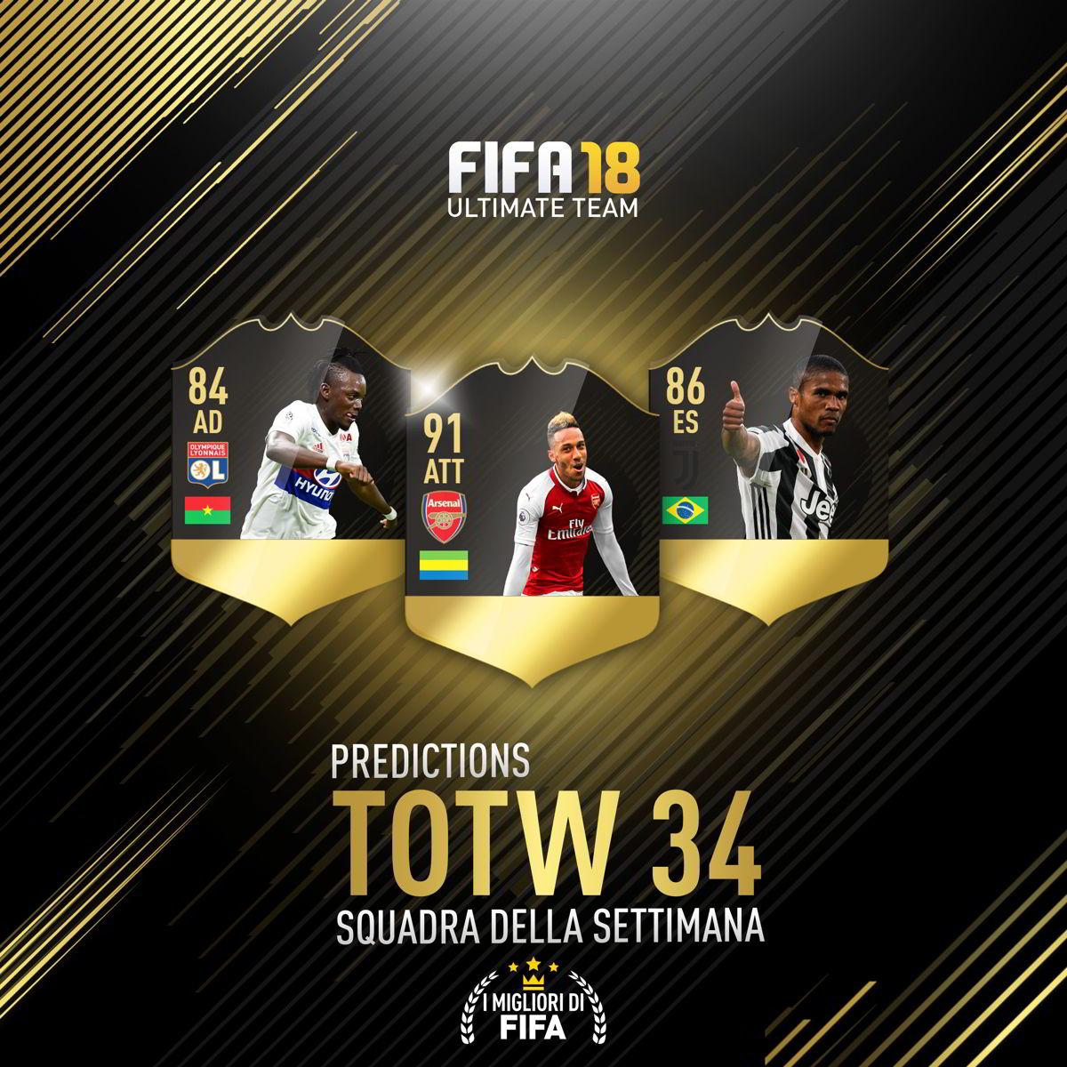 Totw 34 Predictions