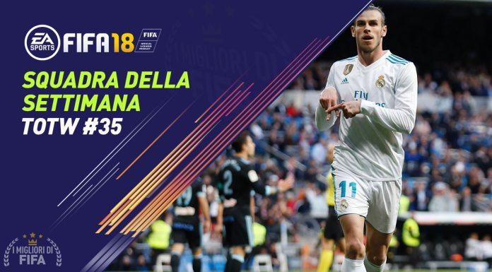 TOTW 35 FIFA 18
