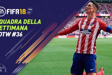 TOTW 36 FIFA 18