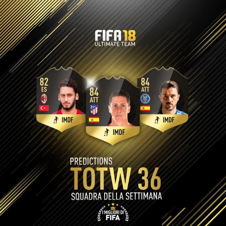 Fifa 18: TOTW 36 Predictions: ecco i giocatori che potrebbero far parte della Squadra della Settimana!