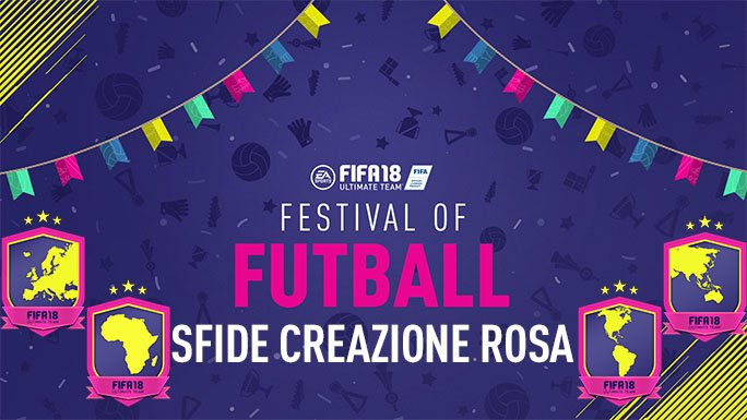 Fifa 18 SBC Festival of Futball: le soluzioni!