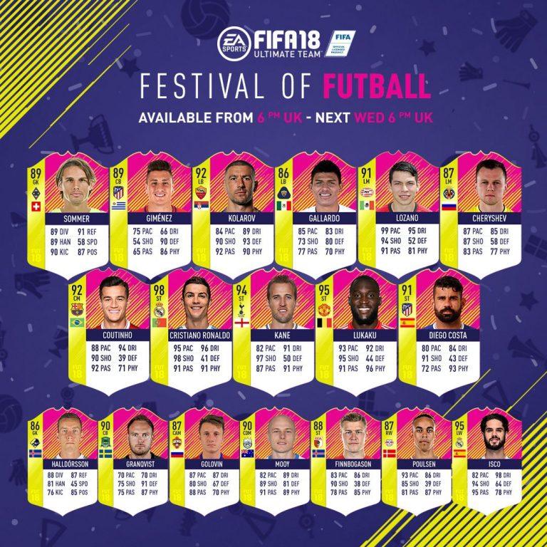 Fifa 18 |  scopri il Team of the Matchday n°1 |  dedicato ai mondiali Russia 2018