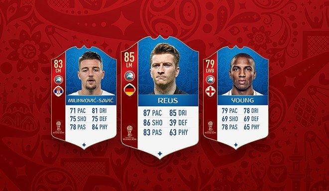Fifa 18 World Cup Russia 2018    nuovi giocatori inseriti su FUT!