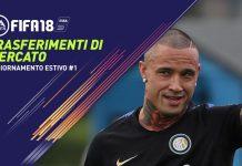Fifa 18 calciomercato trasferimenti mercato estivo