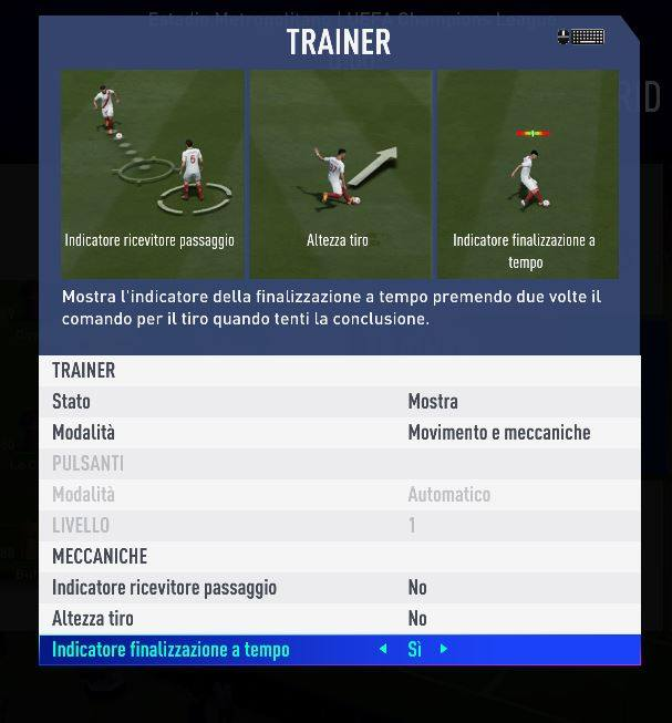 Trainer Timed Finishing