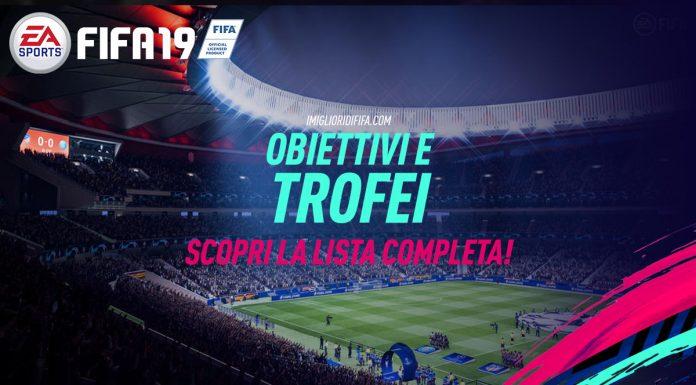 Fifa 19 Obiettivi e Trofei
