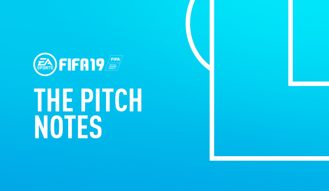 Fifa 19 Pitch Notes