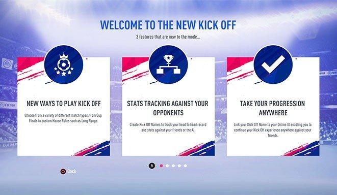 Calcio d'inizio FIFA 19