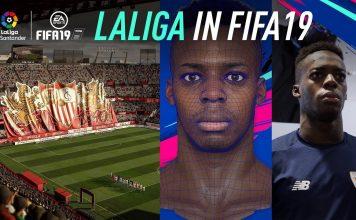 La Liga Stadi FIFA 19