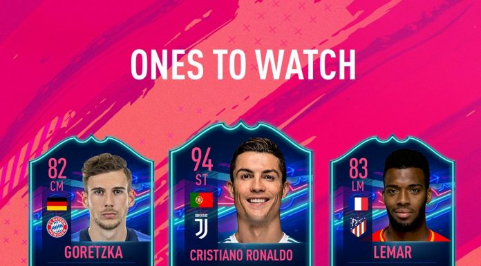 Ones to Watch Fifa 19