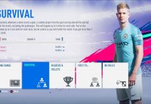 Survival Mode Fifa 19
