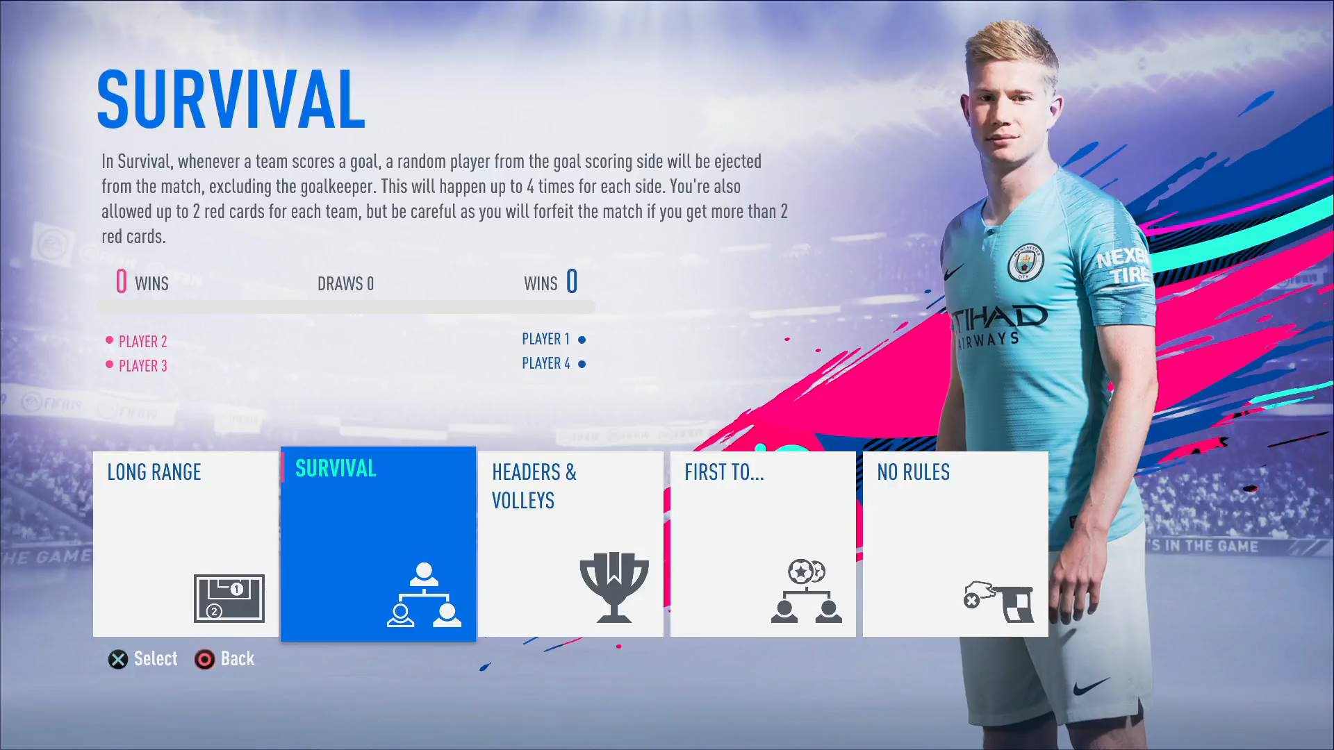 Survival Mode Fifa 19