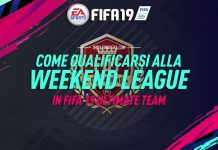 Come qualificarsi alla Weekend League in Fifa 19
