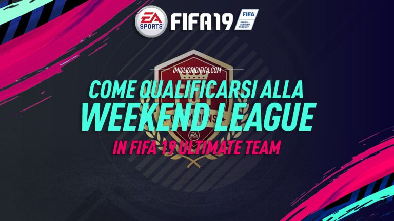 Fifa 19: ecco come qualificarsi alla FUT Champions Weekend L