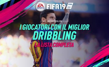 Fifa 19 Miglior Dribbling
