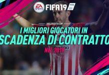 Fifa 19 - Giocatori Scadenza di Contratto nel 2019
