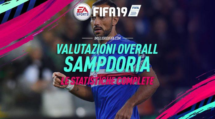 Fifa 19 OVerall Sampdoria